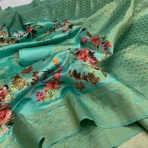 Banarsi Handloom Weaving Silk Saree