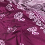 Banarsi Soft Silk with Mina Work