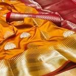 SL Fashion Soft Lichi Silk Saree