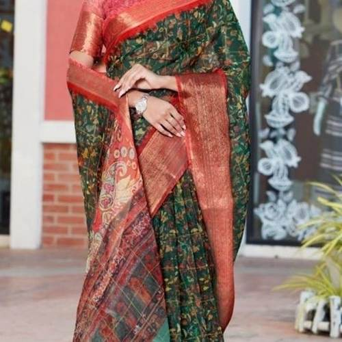 SL Fashion Organza Saree