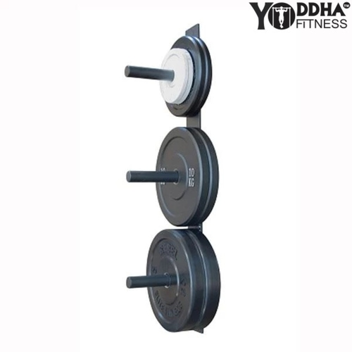 WALL MOUNTED OLYMPIC WEIGHT PLATE HOLDER