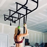 CEILING MOUNT PULL-UP AND MONKEY BARS - HOME PURPOSE