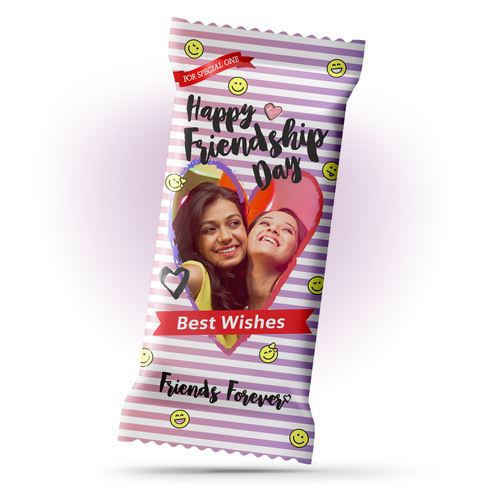 Friendship Day Gift, Personalize Chocolate Bar 100g