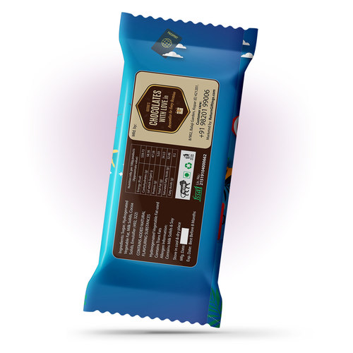 Happy Journey Gift, Personalize Chocolate Large Bar 100g