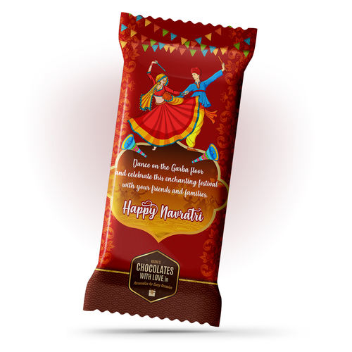 Kathas Navratri Gift Chocolate Large Bar 100g