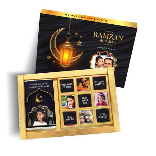 Ramzan Eid Gift, Personalized Assorted Chocolate Box - 1B9C