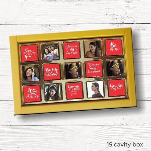 Valentines Day Personalized Gift Box, Assorted Chocolates