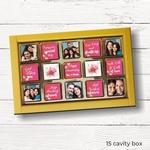 Anniversary Gift, Personalized Chocolate Box