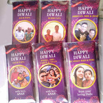 Diwali Gift, Personalize Chocolate Bar 100g