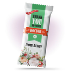 Thank You Gift, Personalize Chocolate Large Bar 100g