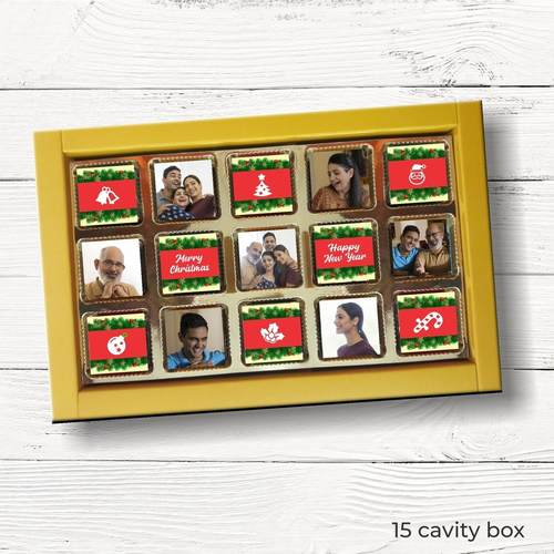 Christmas Personalized Gift Box, Assorted Chocolates