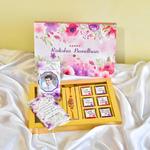Raksha Bandhan Gift, Personalized Chocolate Box with Rakhee