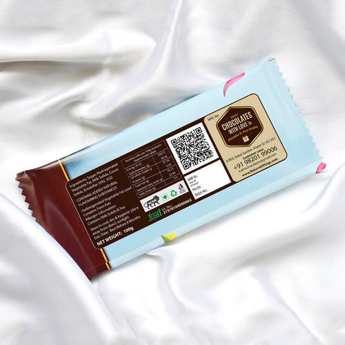 Wedding Anniversary Chocolate Large Bar 100g