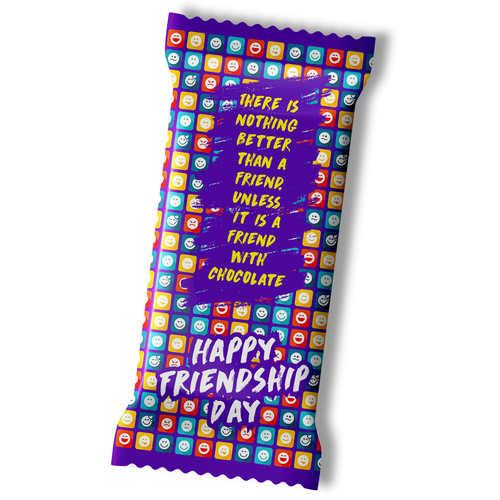 Friendship Day Chocolate Large Bar 100g