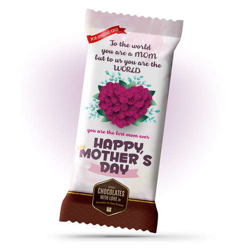 Mother's Day Gift, Chocolate Large Bar - 100g
