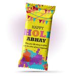 Holi Gift, Personalize Chocolate Bar 100g