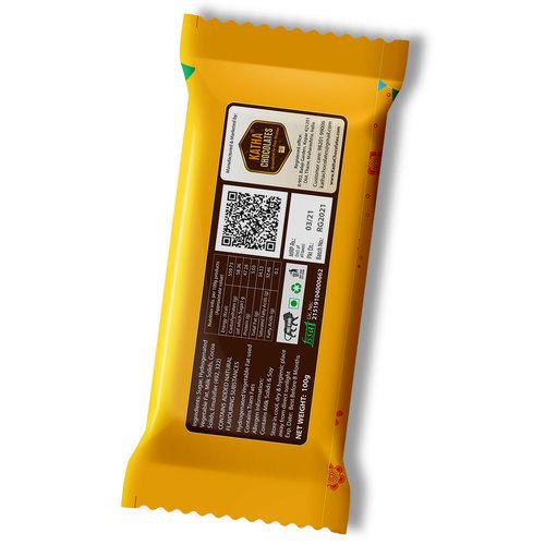 Ugadi Gift, Personalized Chocolate Large Bar - 100g