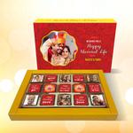 Wedding Personalized Gift Box, Assorted Chocolates