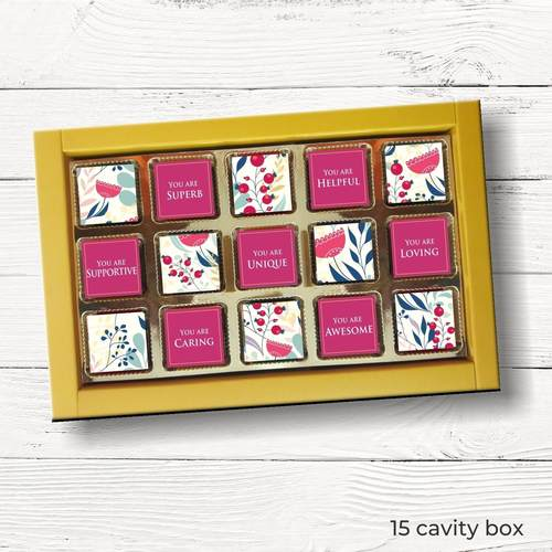 Teachers Day Personalized Gift Box, Assorted Chocolates