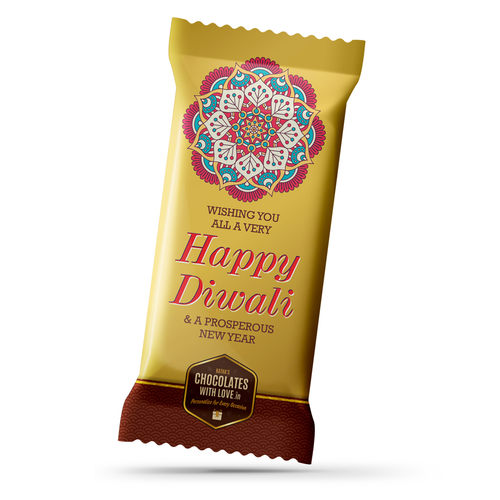 Diwali Chocolate Large Bar (100g)