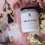 Stay-Home Bundle with scented candle