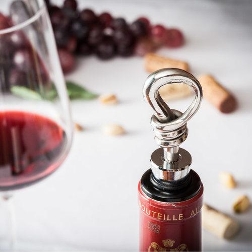 Wine Bottle Stopper - Stainless Steel