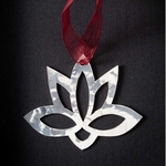 Lotos Flower - Stainless Steel Ornament