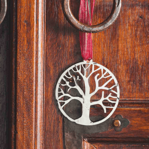 Tree of Life - Stainless Steel Ornament