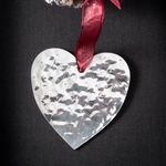 Heart  - Stainless Steel Ornament