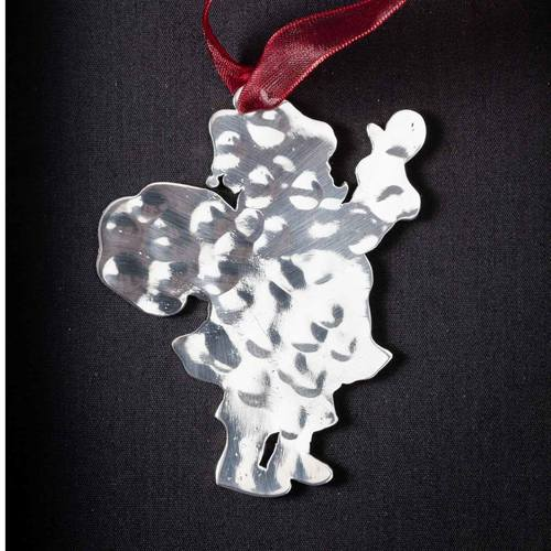 Santa Claus # 2 - Stainless Steel Ornament