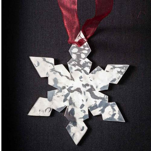 Star Flake - Stainless Steel Ornament