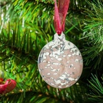 Christmas Ball - Stainless Steel Ornament