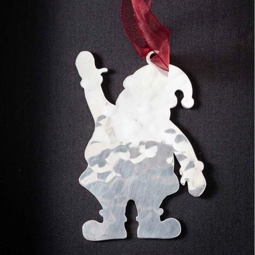 Santa Claus # 1 - Stainless Steel Ornament