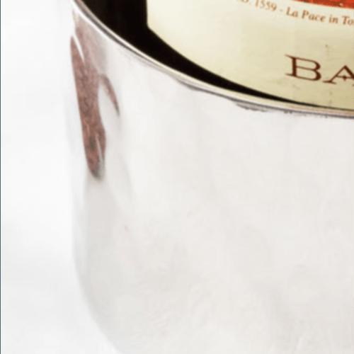 Wine Bottle Coaster  - Stainless Steel