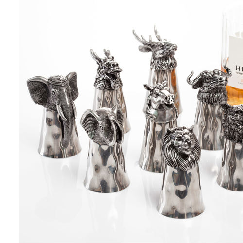 Animal Head Shot Cup -Stag