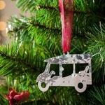 Tuk Tuk - Stainless Steel Ornament
