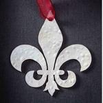 Fleur-de-Lis - Stainless Steel Ornament