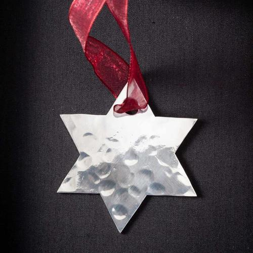 Star - Stainless Steel Ornament