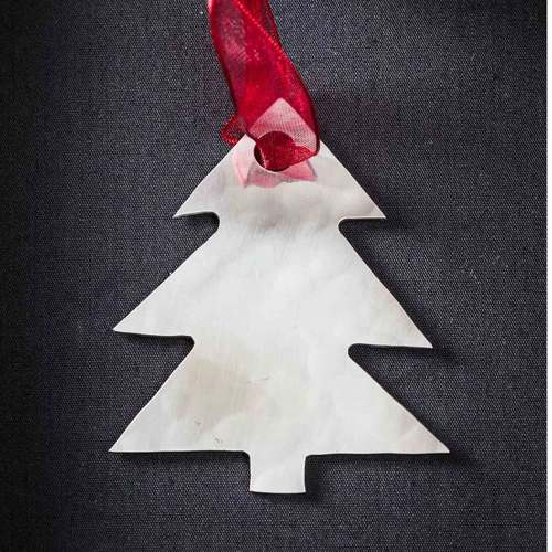 Christmas Tree - Stainless Steel Ornament