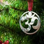 OM - Stainless steel Ornament