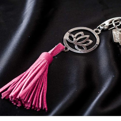 Key Ring - Lotus Flower