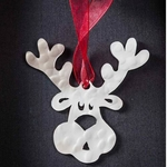 Rudolph - the Reindeer - Stainless Steel Ornament