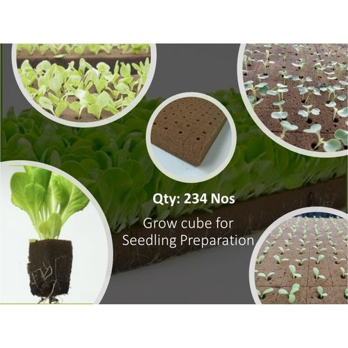 Grow Cube Qty 234 Nos.