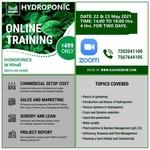Hydroponic Training ( IN HINDI) 22, May AND 23, May 2021