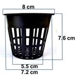 RADONGROW 3 inch Netpot Qty30 Nos