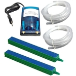RADONGROW Air Pump Double out Let + Air Pipe + Air Stone 6