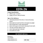 EDTA Zn 400 gm