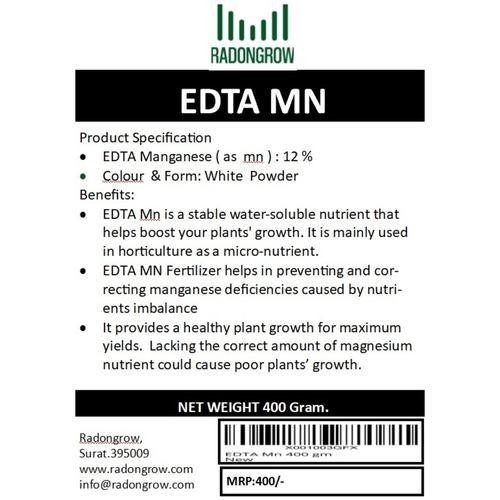 EDTA Mn 400 gm