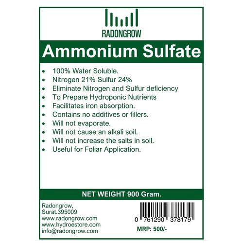 AMMONIUM SULFATE 900 gm