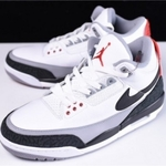 Mens Shoes Nike Air Jordan 3 Retro Tinker Fire Red